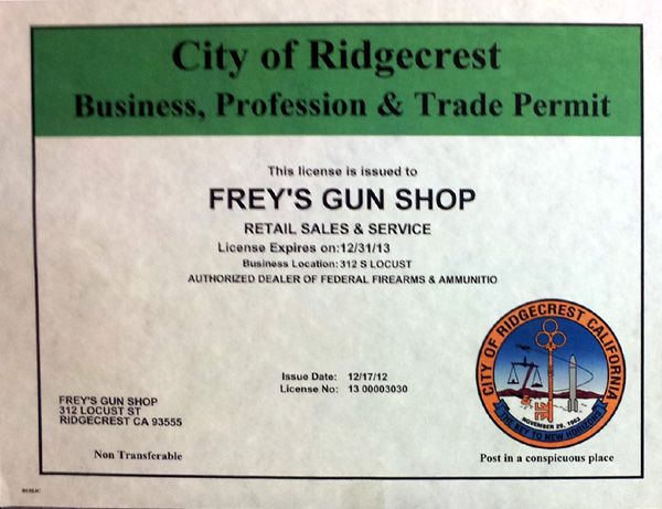 Freys-Business-License
